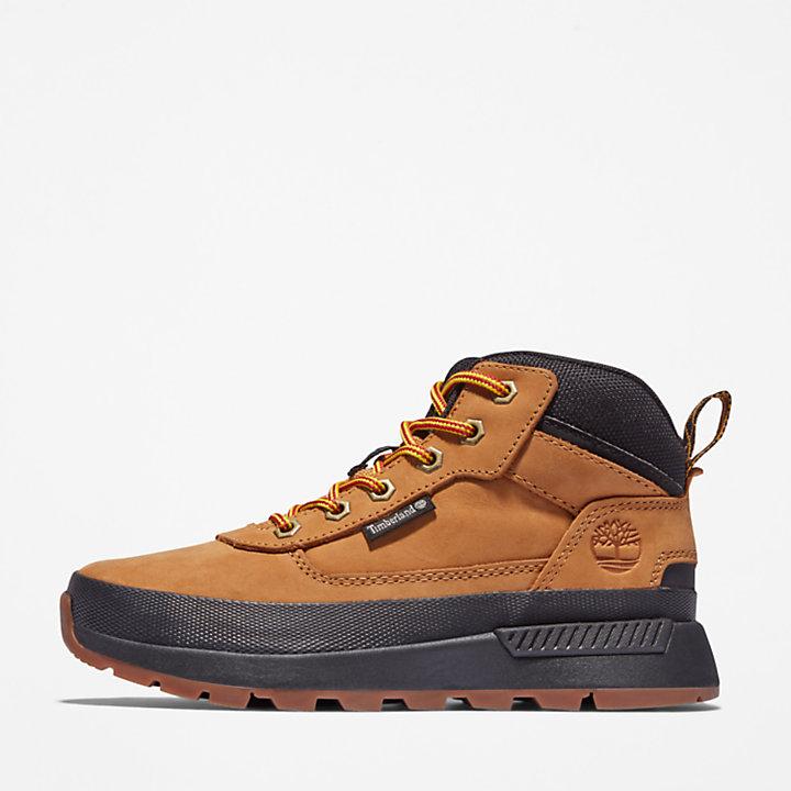 Chaussure de randonnée Field Trekker junior en jaune-