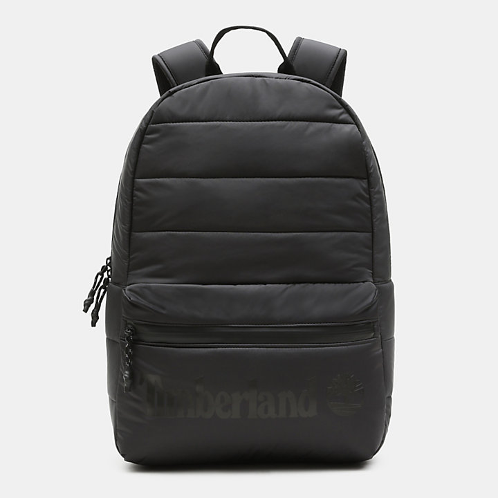 Zip-Top Backpack in Black-