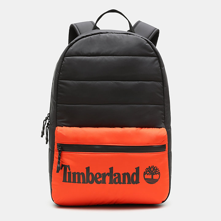 Zip-Top Backpack in Orange-