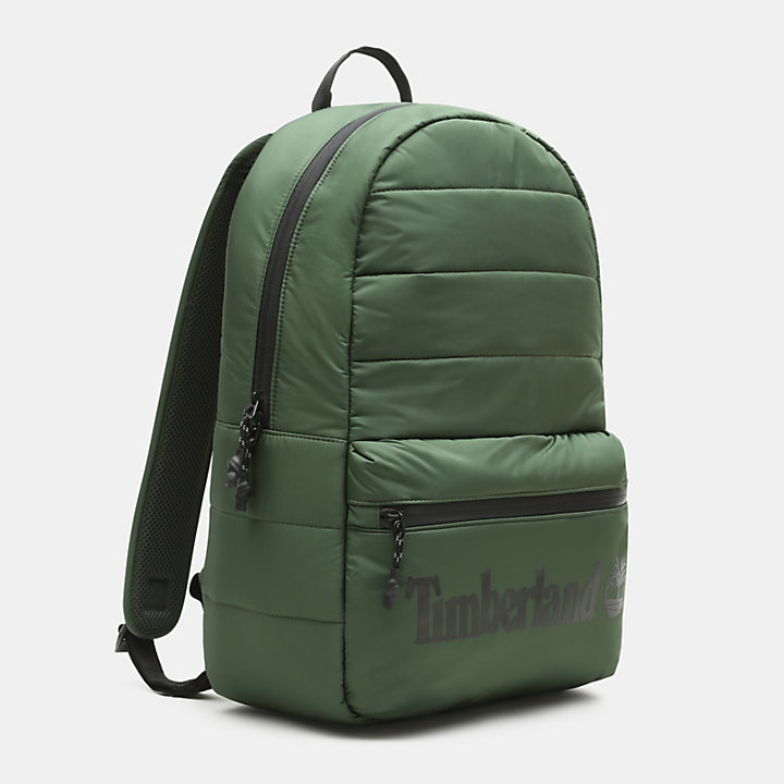 Zip-Top Backpack in Green-