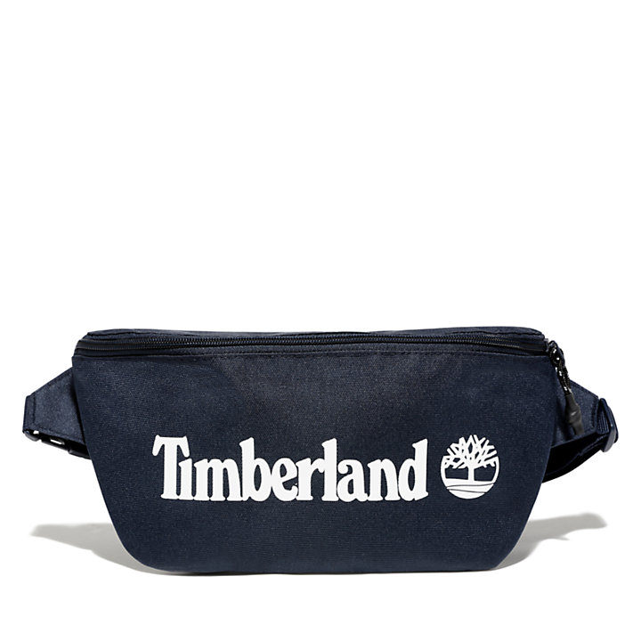 Logo Sling Bag in Navy-
