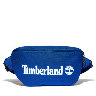 Logo+Sling+Bag+in+Blue