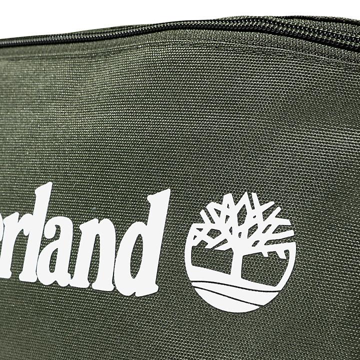 Logo Sling Bag in Dark Green-