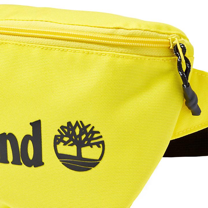 Borsa Monospalla con Logo in giallo-