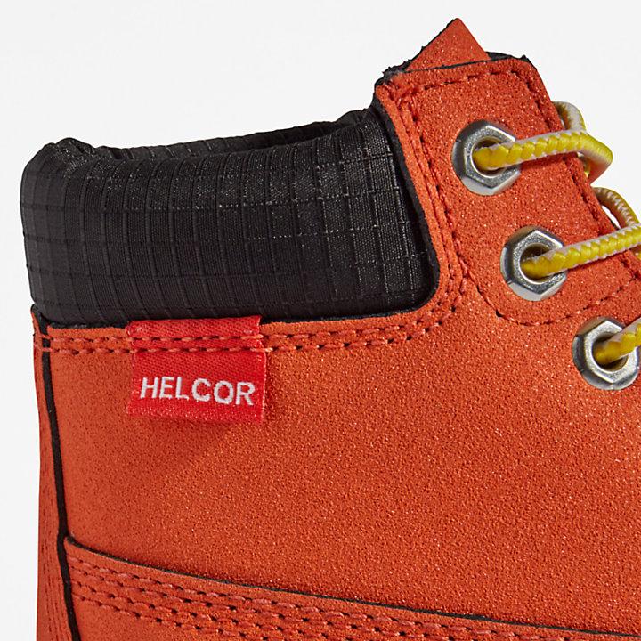 Wasserfeste Timberland® Premium 6-Inch-Stiefel für Kinder in Orange-