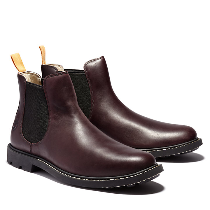 Belanger EK+ Chelsea Boot for Men in Burgundy-