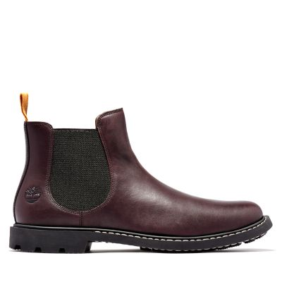 Belanger+EK%2B+Chelsea+Boot+for+Men+in+Burgundy