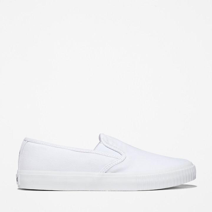 Skyla Bay Plimsoll for Women in White-