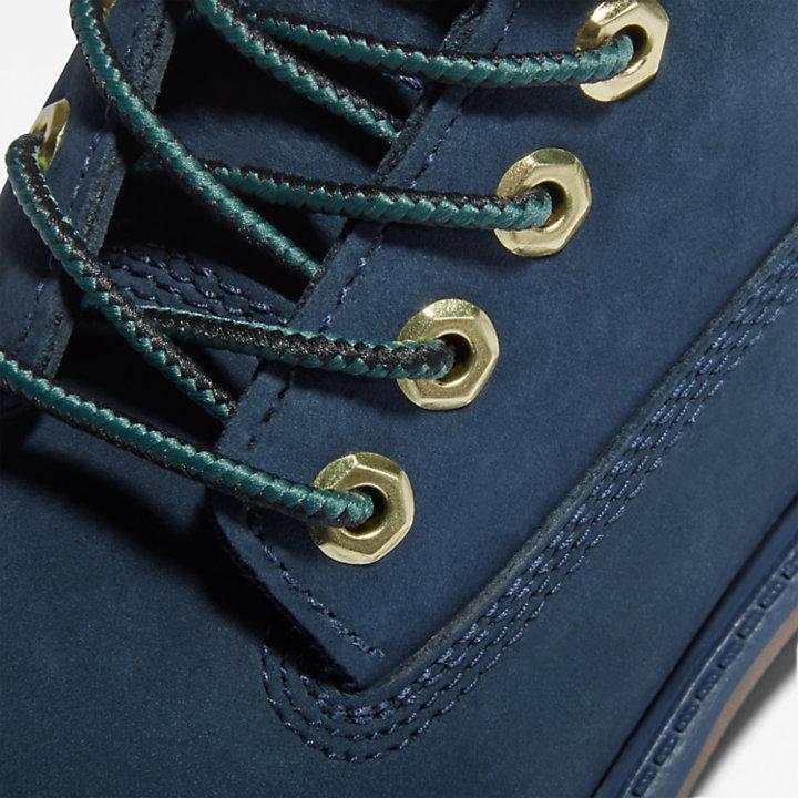 Timberland® Premium 6-Inch Waterproof Boots for Junior in Navy-