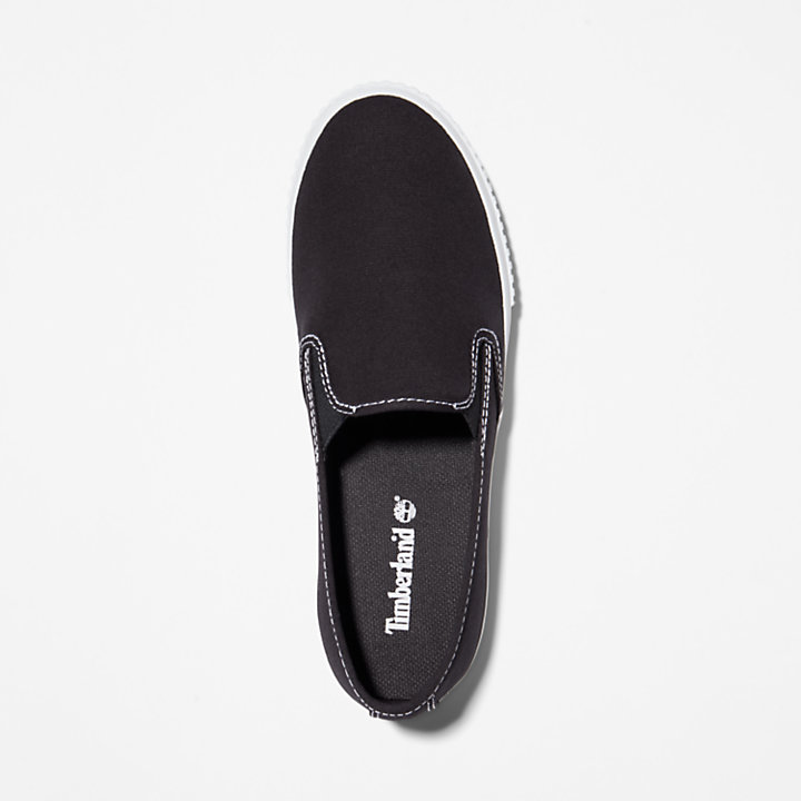 Skyla Bay Plimsoll for Women in Black-