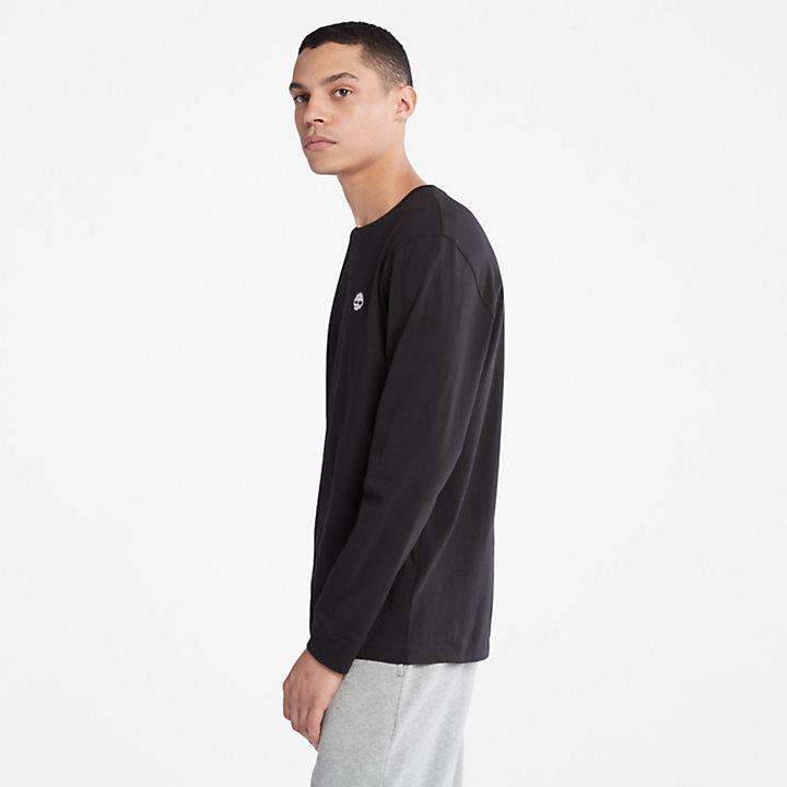Camiseta con Logotipo del Árbol para Hombre en color negro-