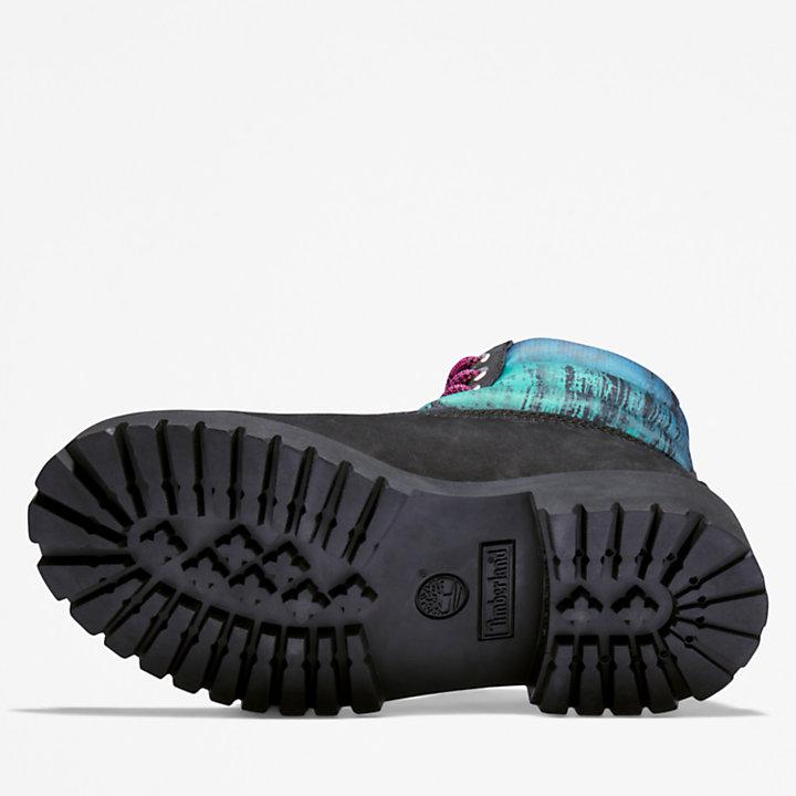 Scarponcino Trapuntato da Bambino (dal 35,5 al 40) Premium 6 Inch in colore nero-