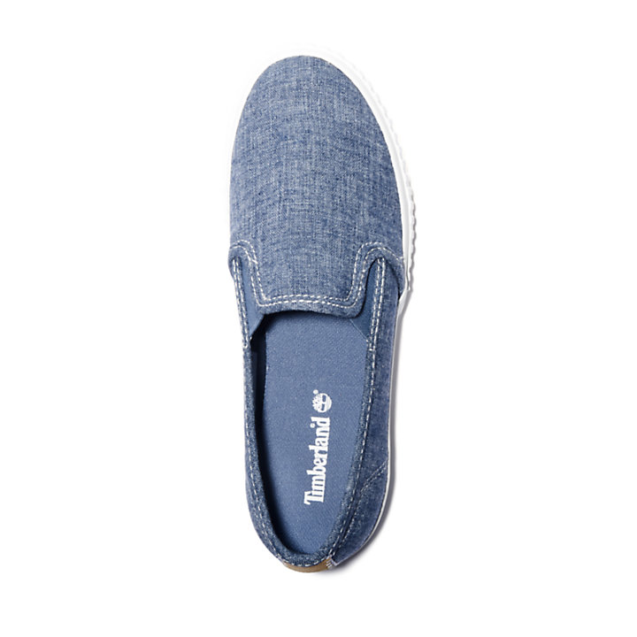 Scarpa Slip-On da Donna Newport Bay in blu-