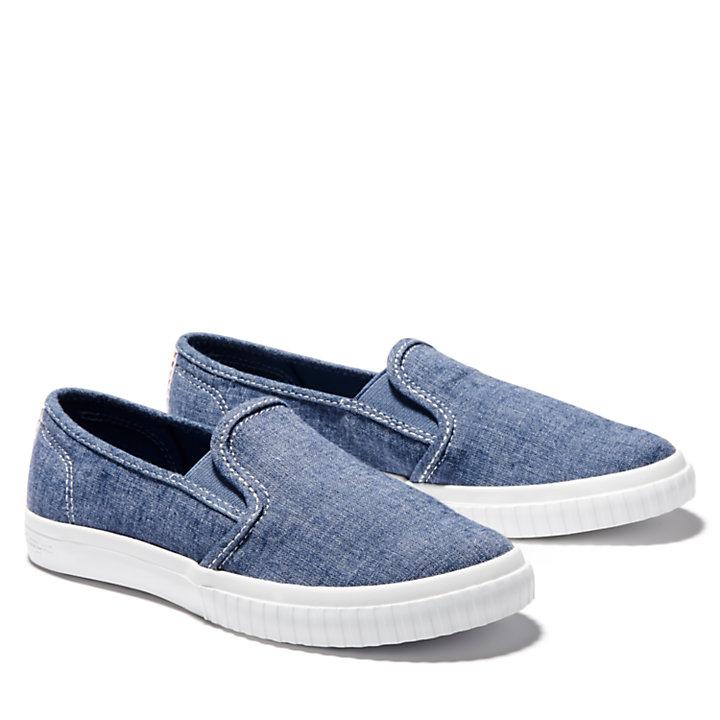 Newport Bay Slip-On Schuh für Damen in Blau-