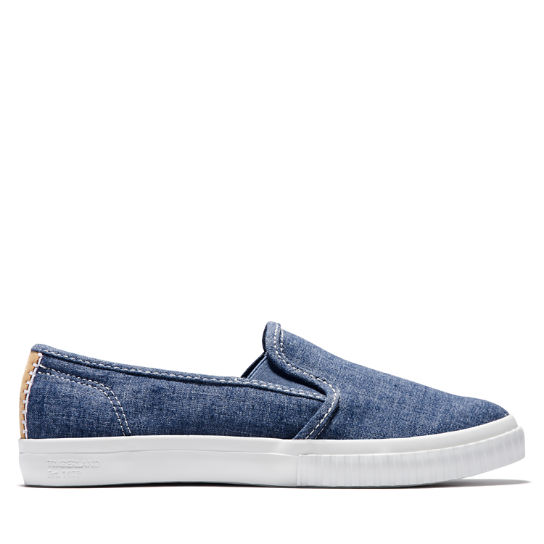 Newport Bay Slip-On Schoen voor Dames in blauw | Timberland