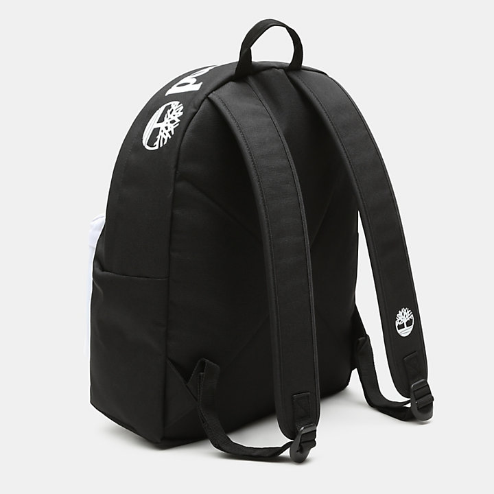 Sport Lifestyle Colour Block Backpack in Black-