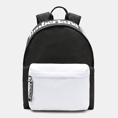 Sac+%C3%A0+dos+color+block+sportif+Lifestyle+en+noir