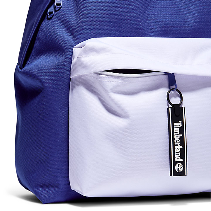 Colour Block Rucksack in Blau-
