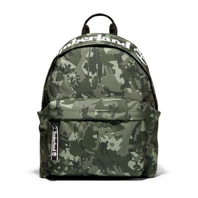 Printed+Backpack+in+Green+Camo