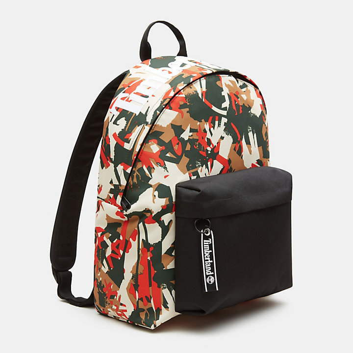 Printed Backpack in Camo-