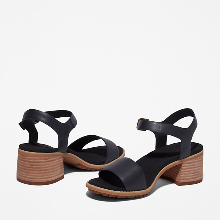 Laguna Shore Sandal for Women in Black-