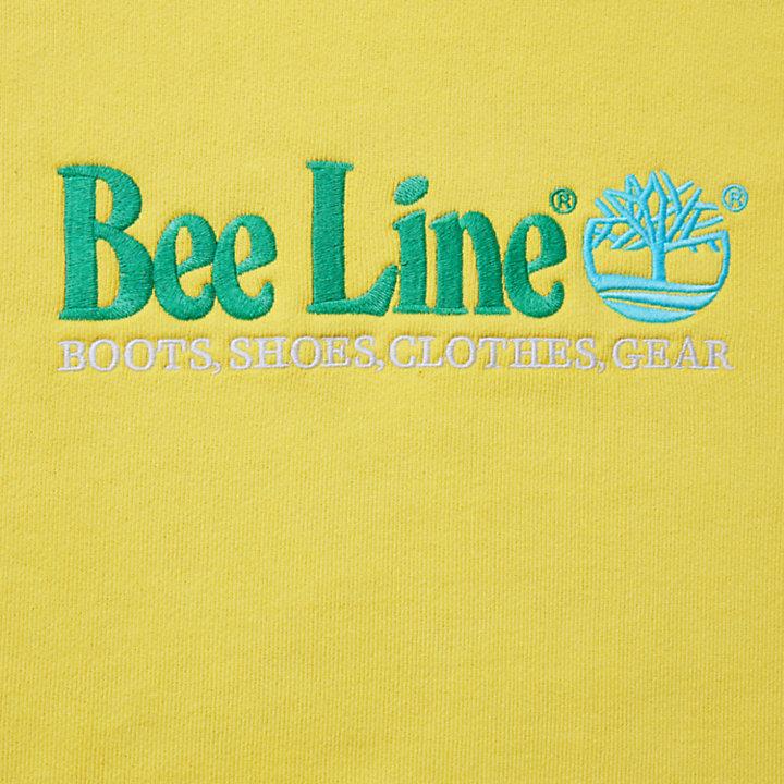 Sudadera con capucha y logotipo Bee Line x Timberland® para Hombre en amarillo-