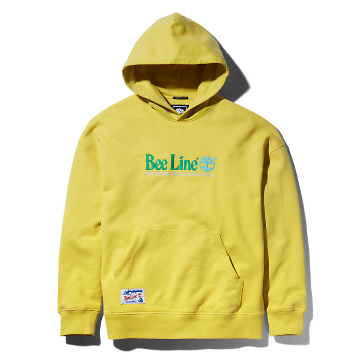 Bee Line x Timberland® Logo Hoodie for Men in Yellow-