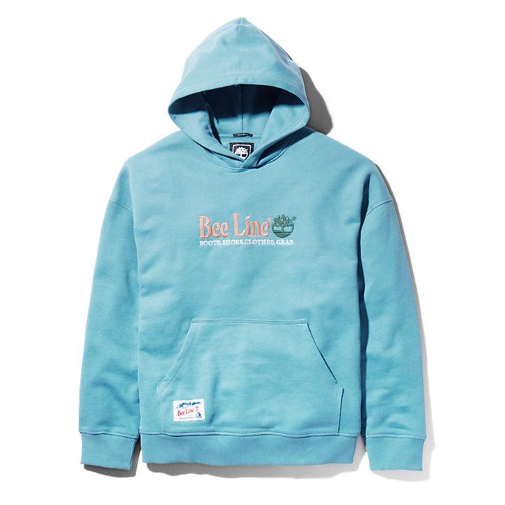 Bee Line x Timberland® Logo Hoody voor heren in blauw-