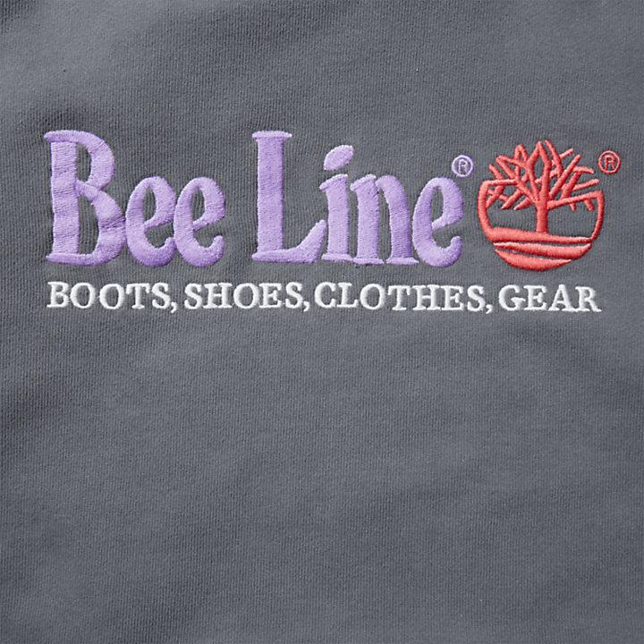 Felpa da Uomo con Cappuccio e Logo Bee Line x Timberland® in blu marino-
