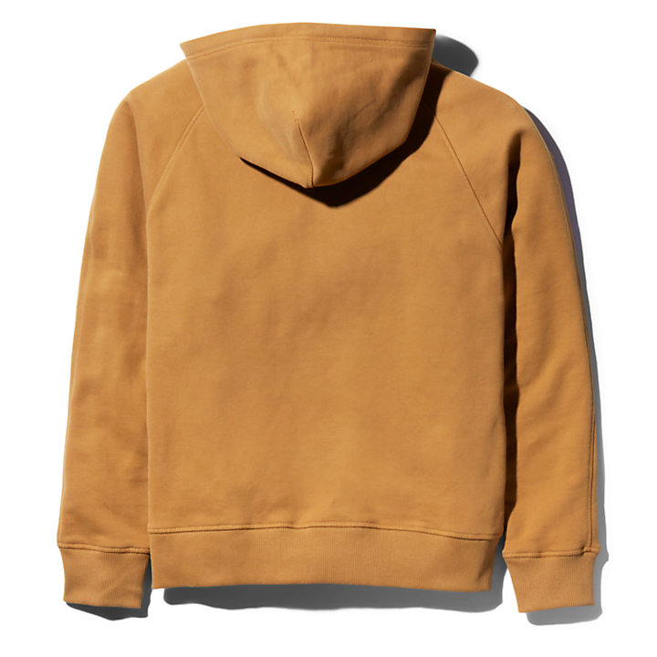 Bee Line x Timberland® Logo Hoodie for Men in Brown-