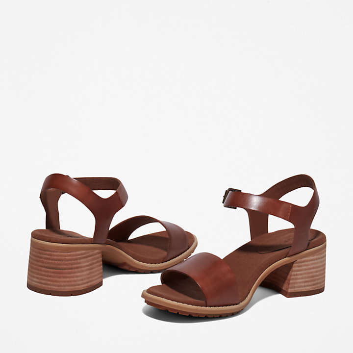 Laguna Shore Sandal for Women in Brown-