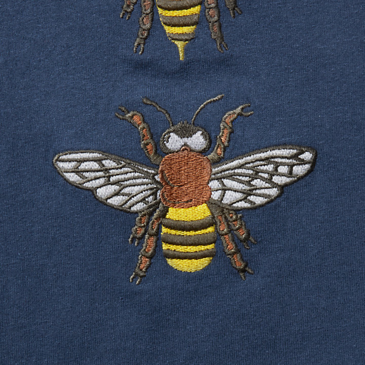 Bee Line x Timberland Graphic Tee for Men in Blue-