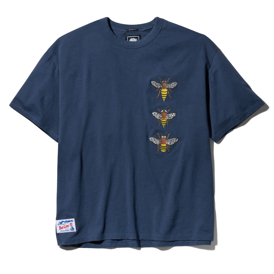 T-shirt Bee Line X ® En Marine, Taille L - Timberland - Modalova