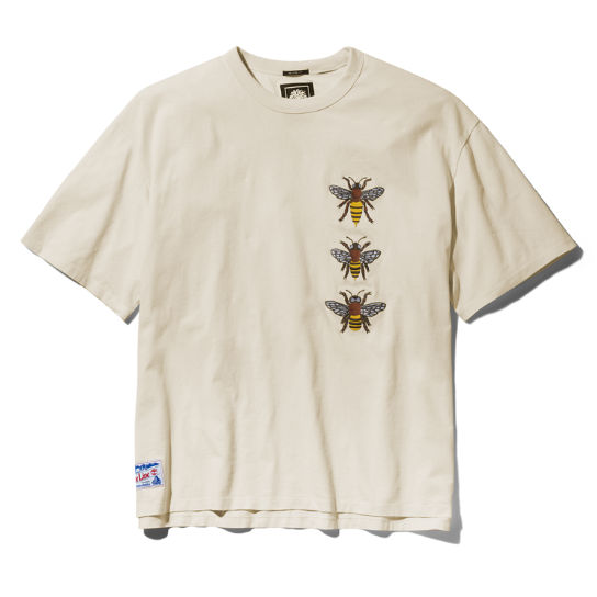 Bee Line x Timberland Graphic Tee for Men in Beige | Timberland