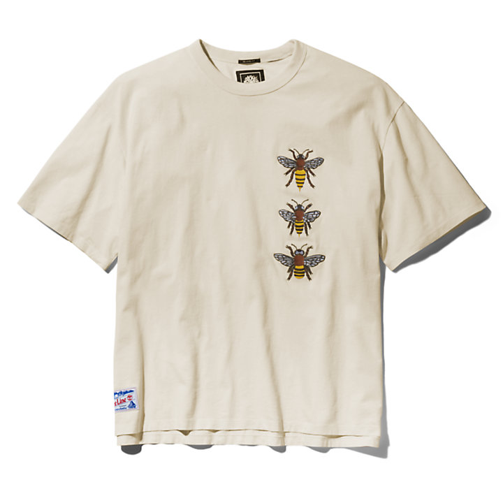 Bee Line x Timberland Graphic Tee for Men in Beige-