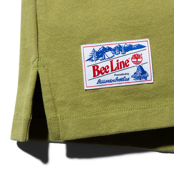 Bee Line x Timberland Pocket Sweatshirt for Men in Green-