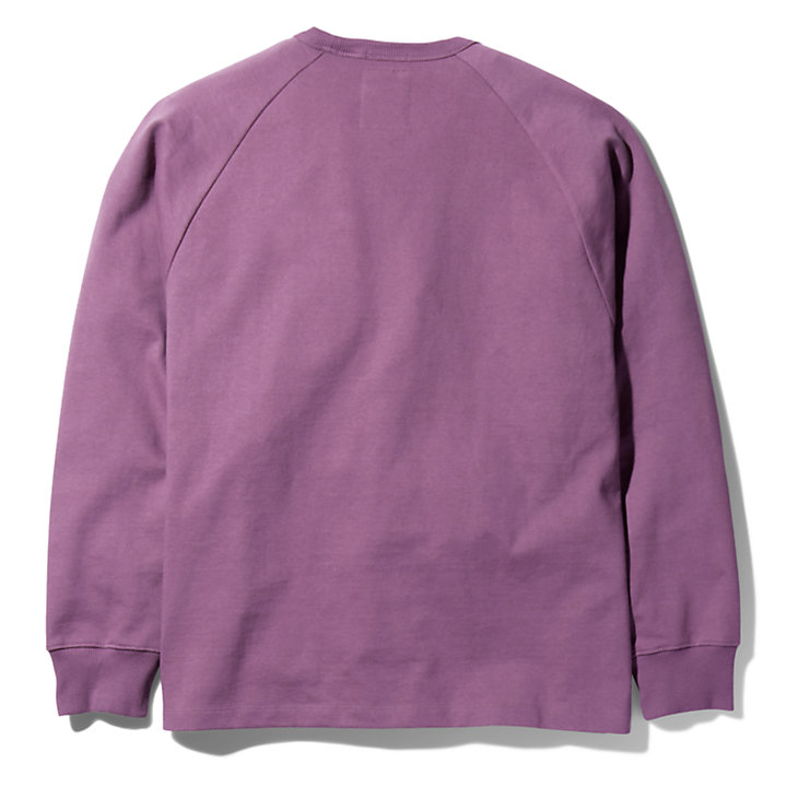 Bee Line x Timberland Pocket Sweatshirt for Men in Purple-