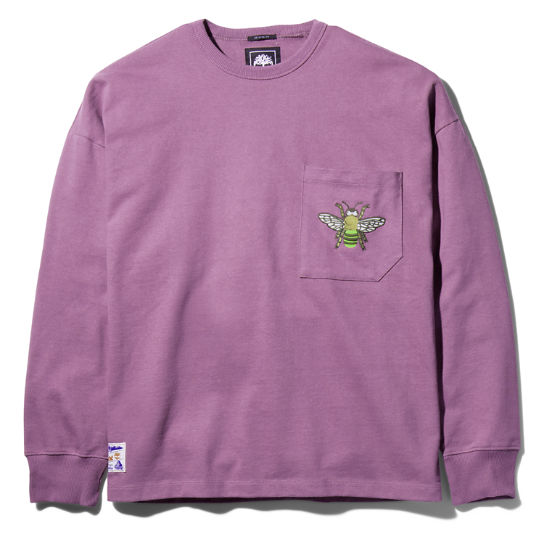 Bee Line x Timberland Pocket Sweatshirt for Men in Purple | Timberland