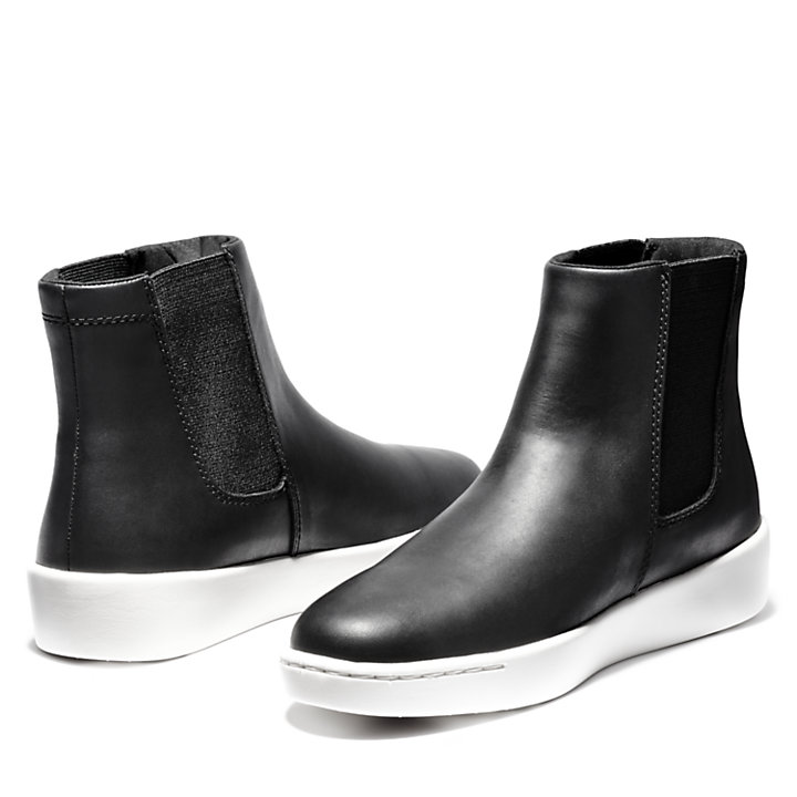 Teya Chelsea Boot for Women in Black-