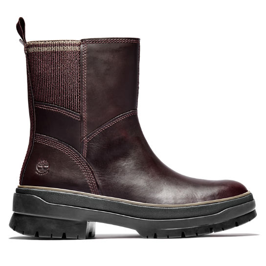 Stivaletto con Zip Laterale da Donna Malynn in bordeaux | Timberland