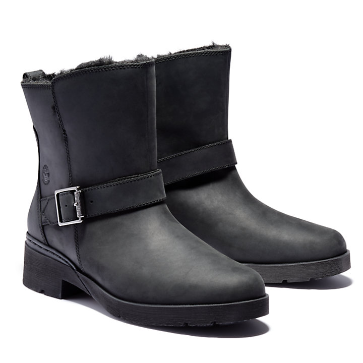 Graceyn Biker Boot voor dames in zwart-