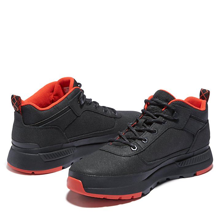 Basket Field Trekker pour homme en noir/rouge-