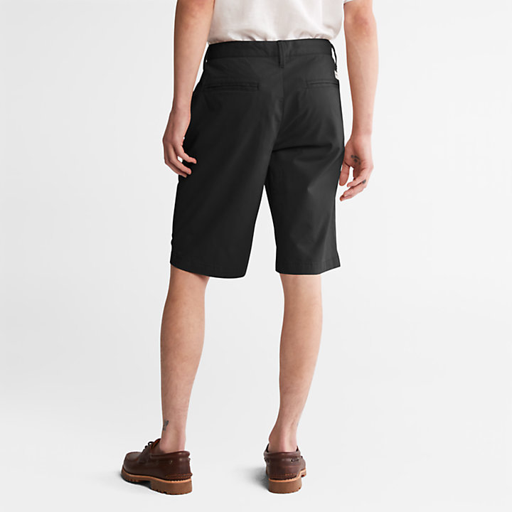 Squam Lake Chino Shorts for Men in Black-
