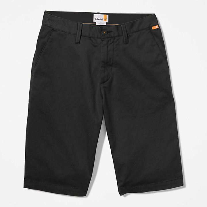 Squam Lake Chinoshorts für Herren in Schwarz-