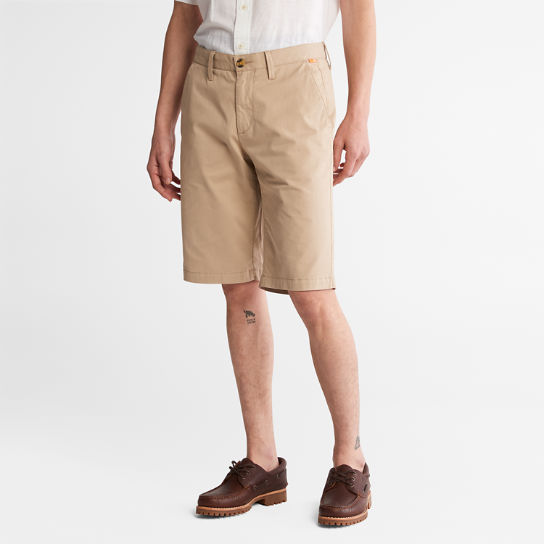Shorts Chino da Uomo Squam Lake in beige | Timberland