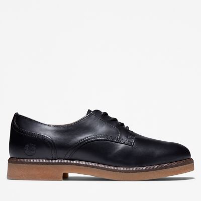 Cambridge+Square+Oxford+Shoe+for+Women+in+Black
