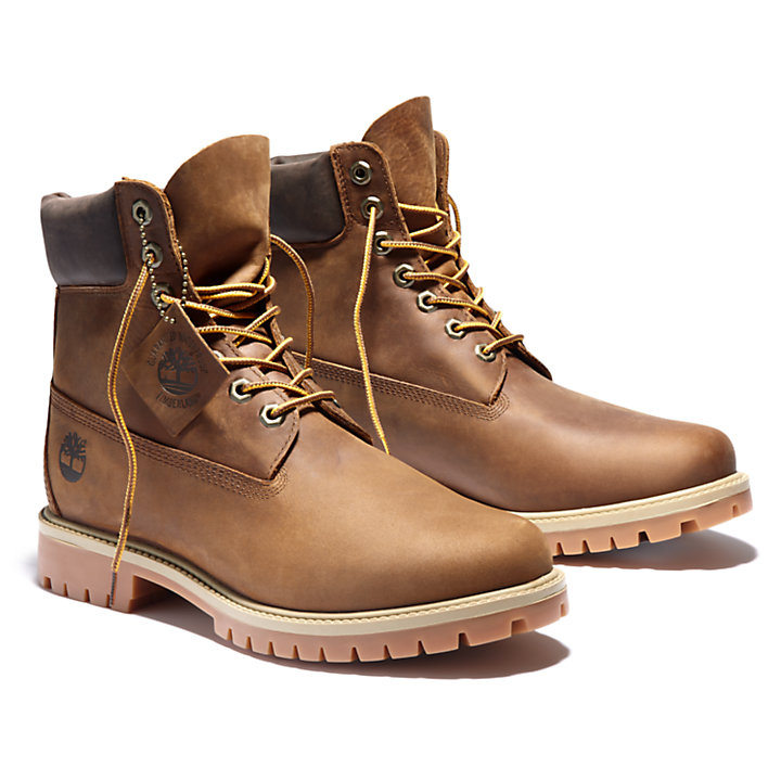 Heritage EK+ 6 Inch Boot for Men in Brown-