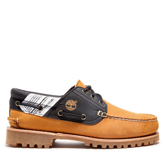 Authentics 3 Eye Boat Shoe for Men in Yellow | Timberland