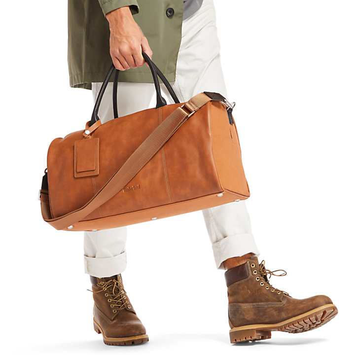 Tuckerman Duffel Bag in Brown-