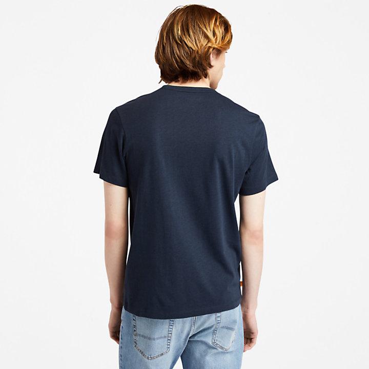 Camiseta Re-Comfort EK+ para hombre en azul marino-